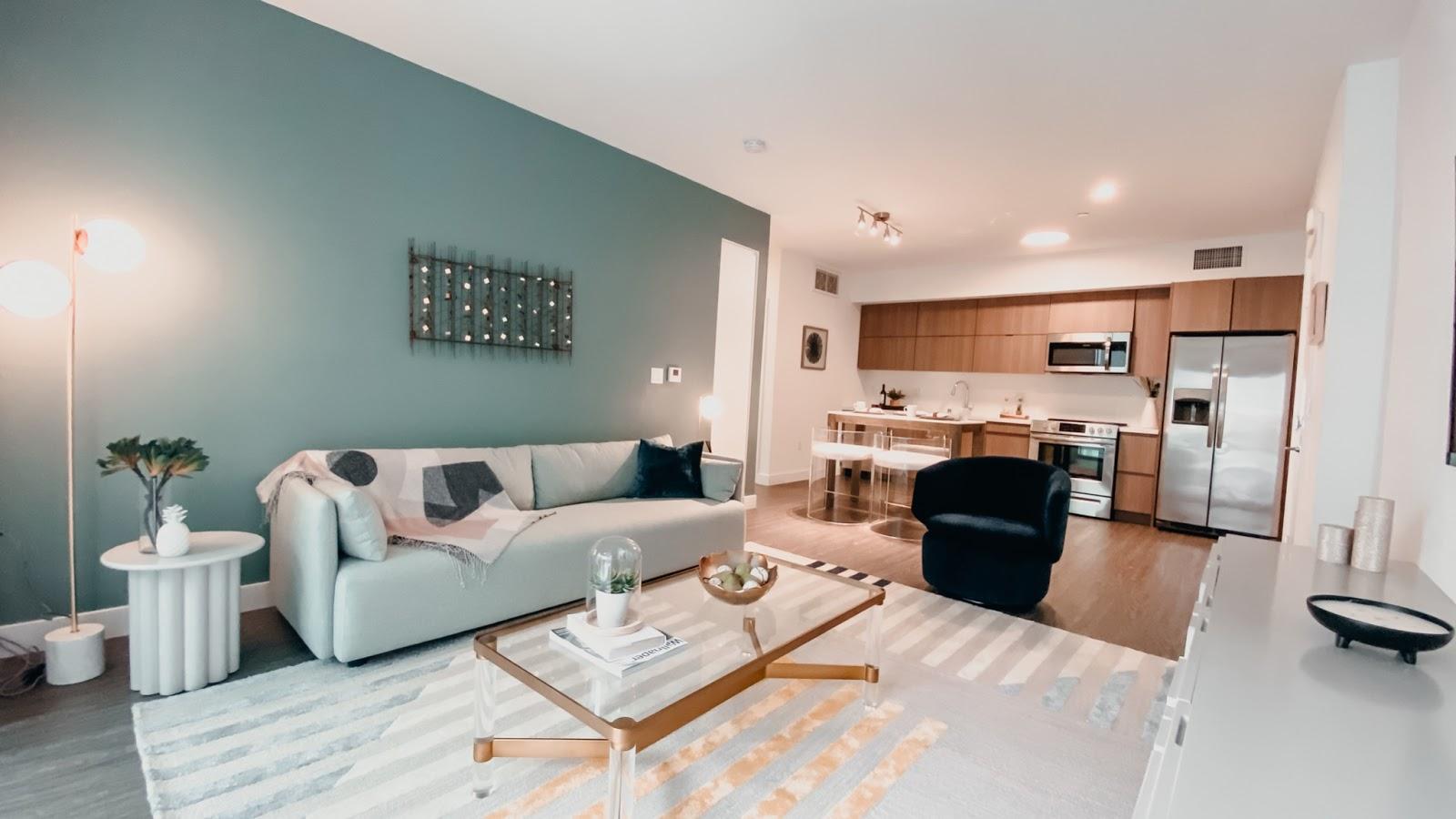The Audrey apartment unit