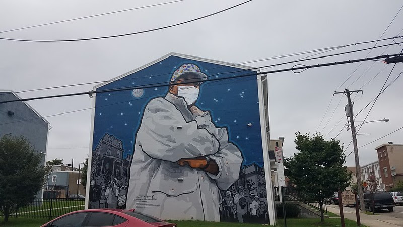 mural arts philadelphia, Up With Hope. Down With Dope by David McShane