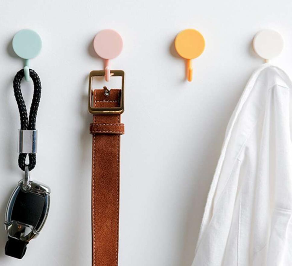 individual key hooks
