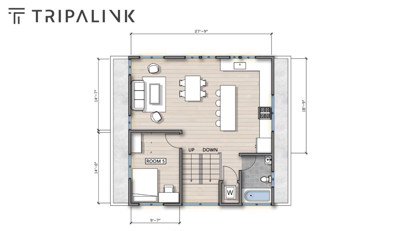Tripalink room layout