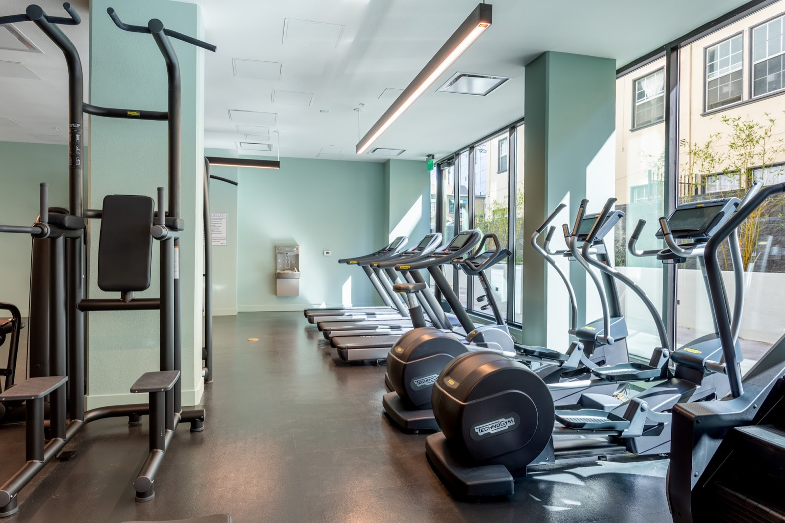 The Harper Apartments Gym
