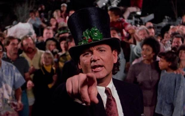 Scrooged Christmas movie