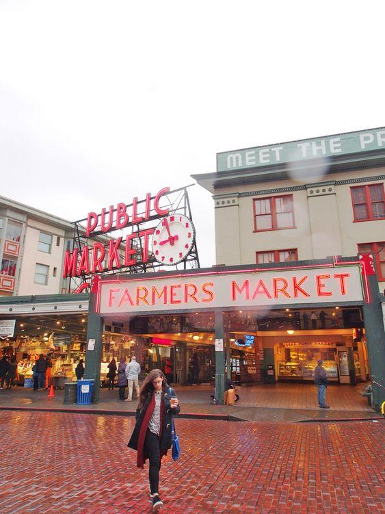 Public market Farmers market Seattle