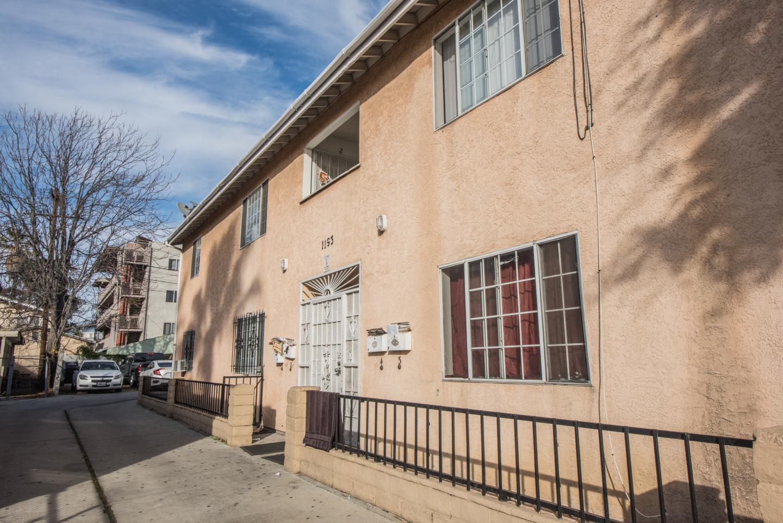 exterior of cream home