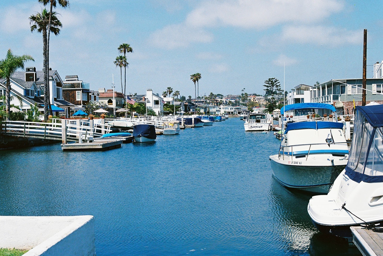 Newport Beach boat port