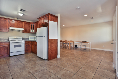 Large front area, house entrance, granite floors