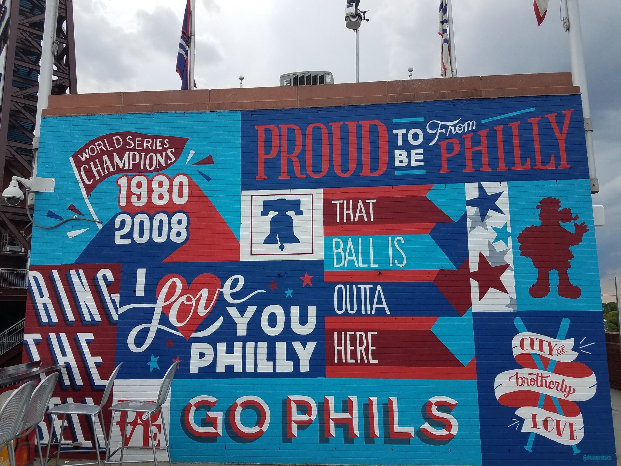 Philadelphia Phillies by Pandr Design Co.