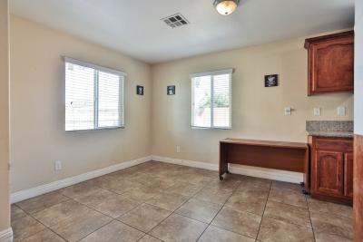 Kitchen, Granite floors