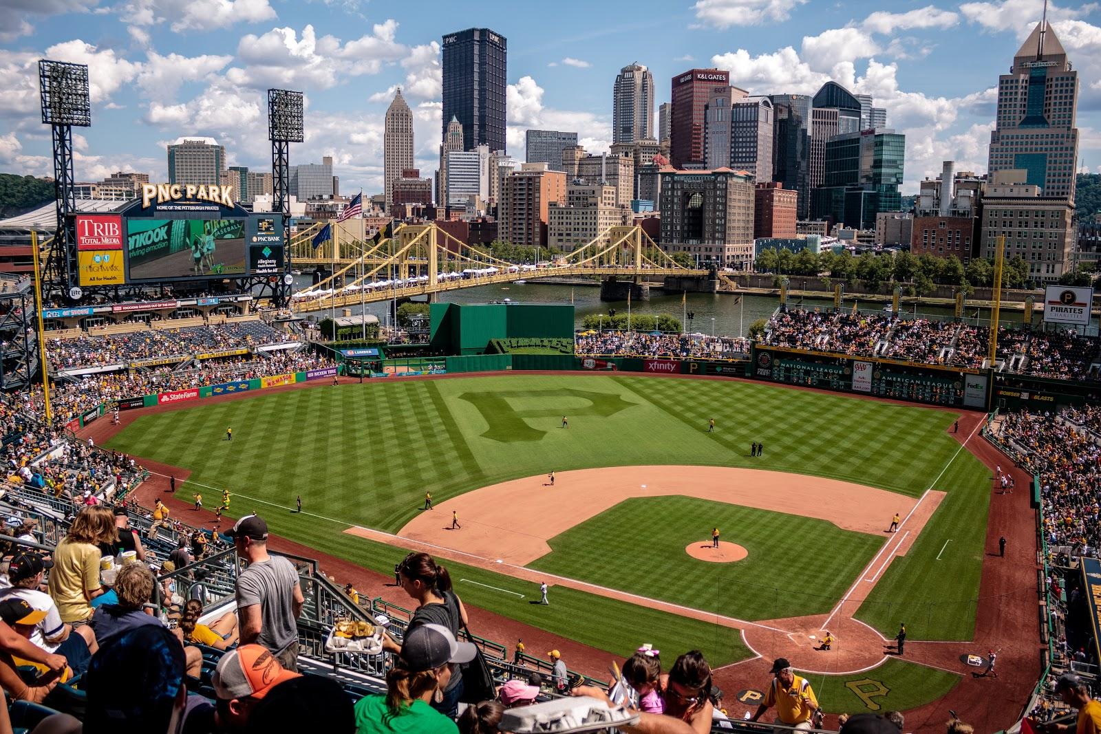 Pittsburgh baseball stadium