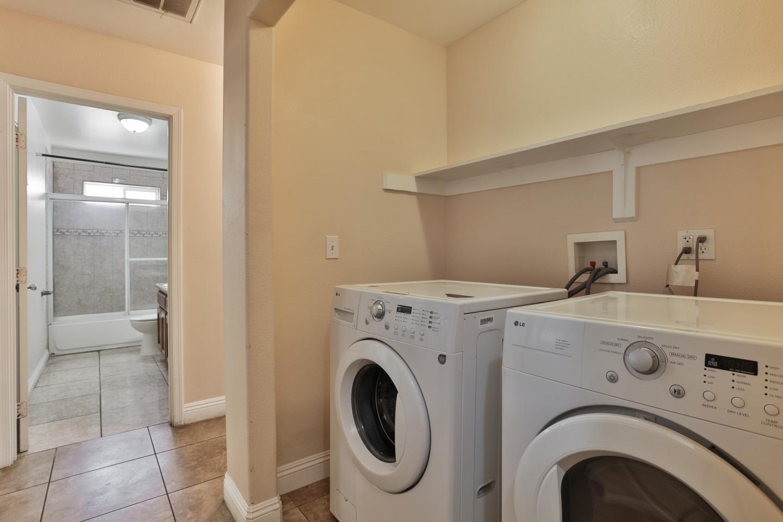 white washing machine and White dryer