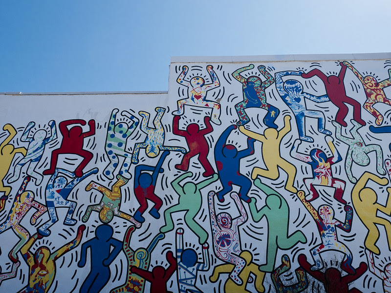 mural arts Philadelphia, We The Youth by Keith Haring