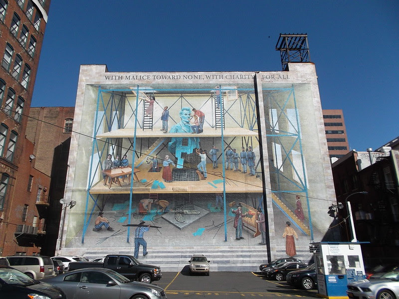 mural arts Philadelphia, A People's Progression Toward Equality by Jared Bader