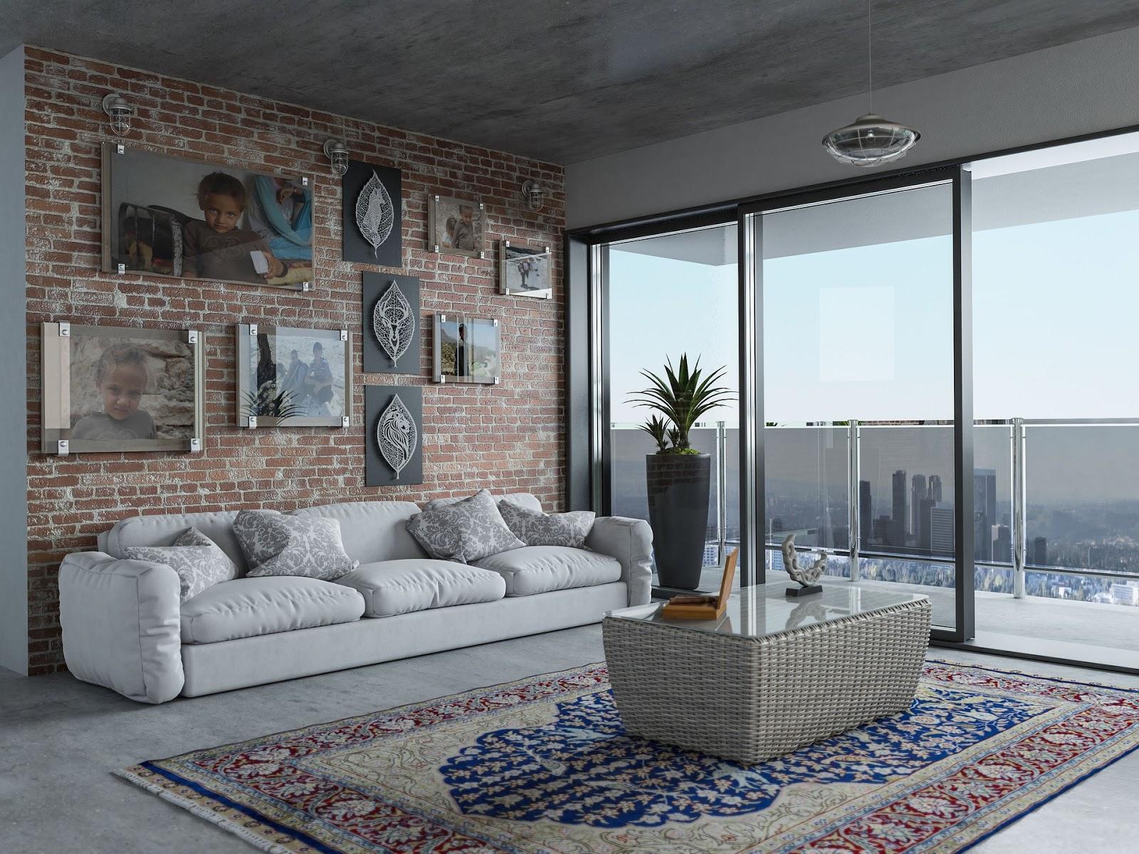 Loft style apartment for virtual tour