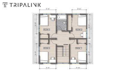 Tripalink floorplan