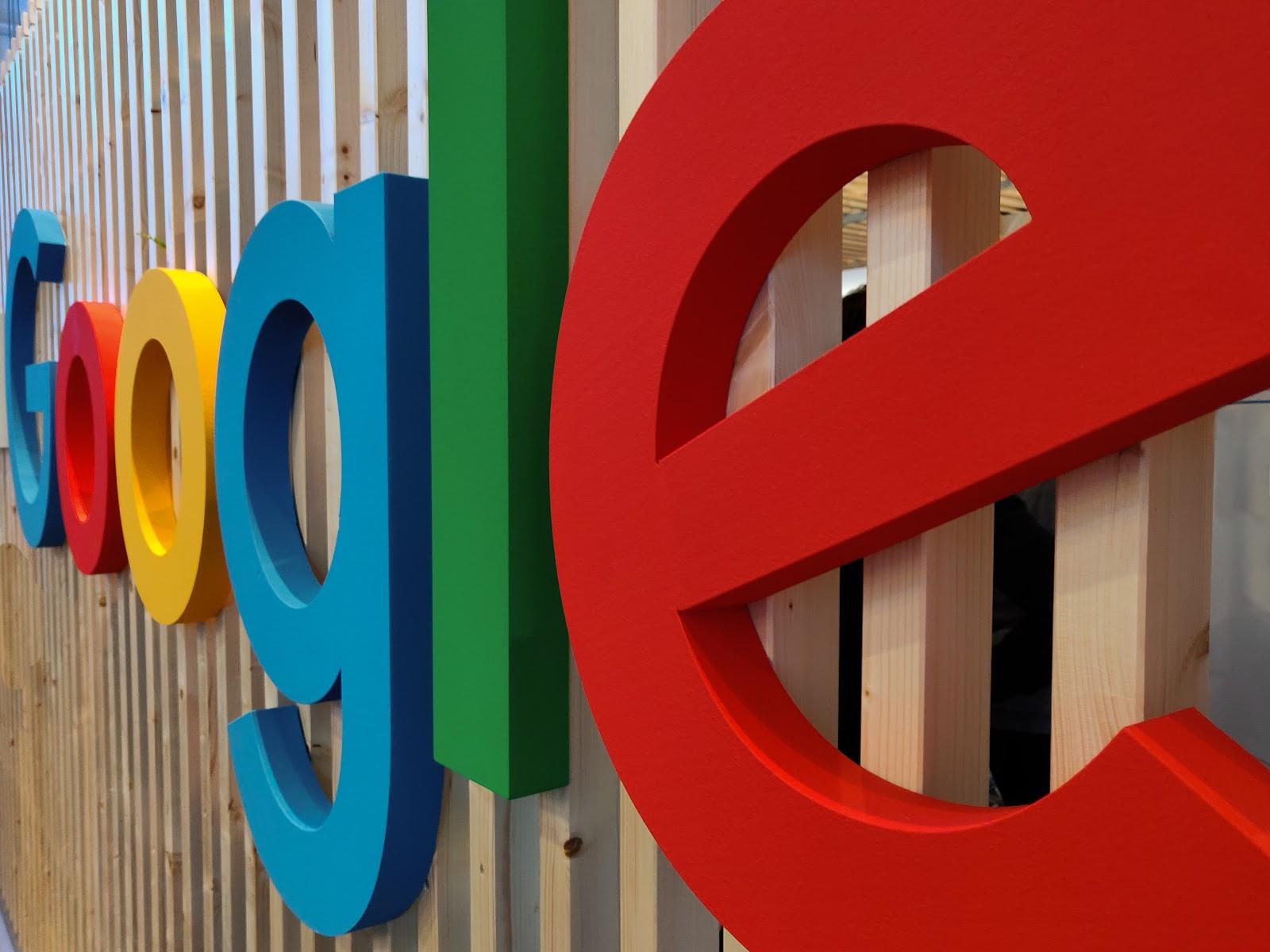 Huge Google sign