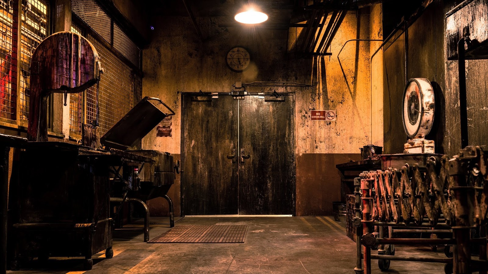 horror escape room