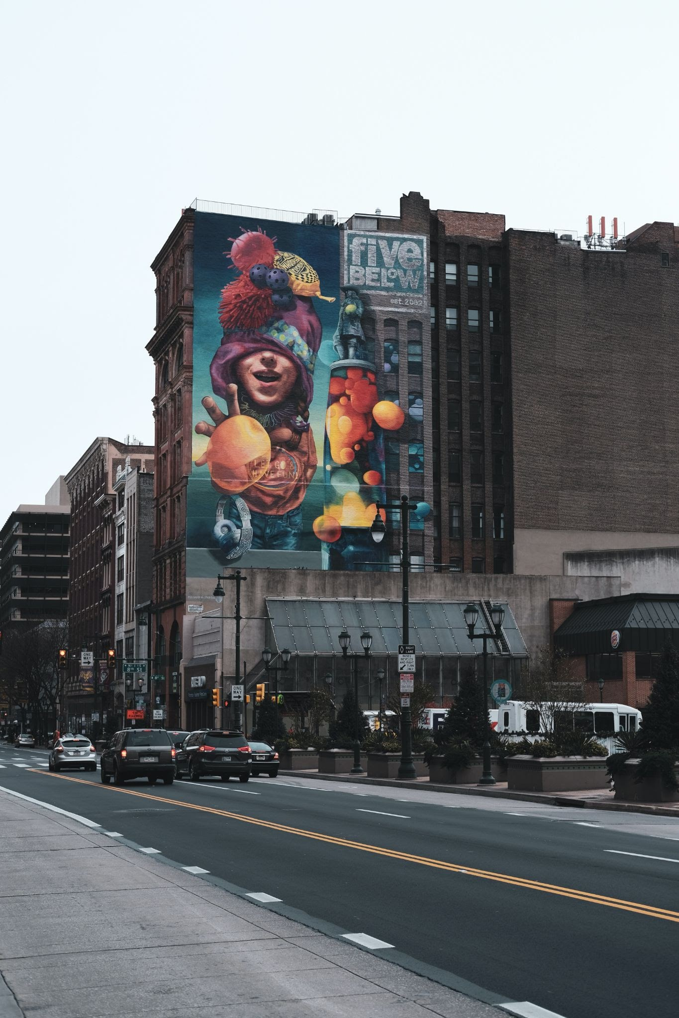 Five Below Mural by Meg Saligman